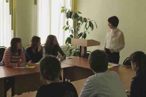 Cеминар-практикум в областной школе журналистики