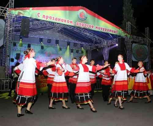 «Тамбовчата» на фестивале в Мичуринске