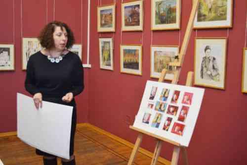 Мастер-класс  в рамках открытия выставки творческих работ «Помнит сердце, не забудет никогда»