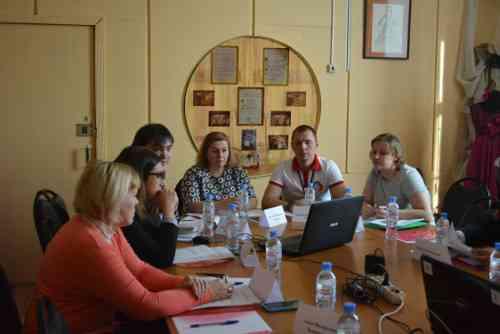Заседание Координационного совета Тамбовского регионального отделения Российского движения школьников