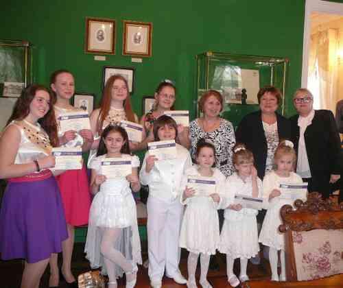 Концертная программа «Весенние мелодии» в Белой гостиной Дома-музея Г.В.Чичерина
