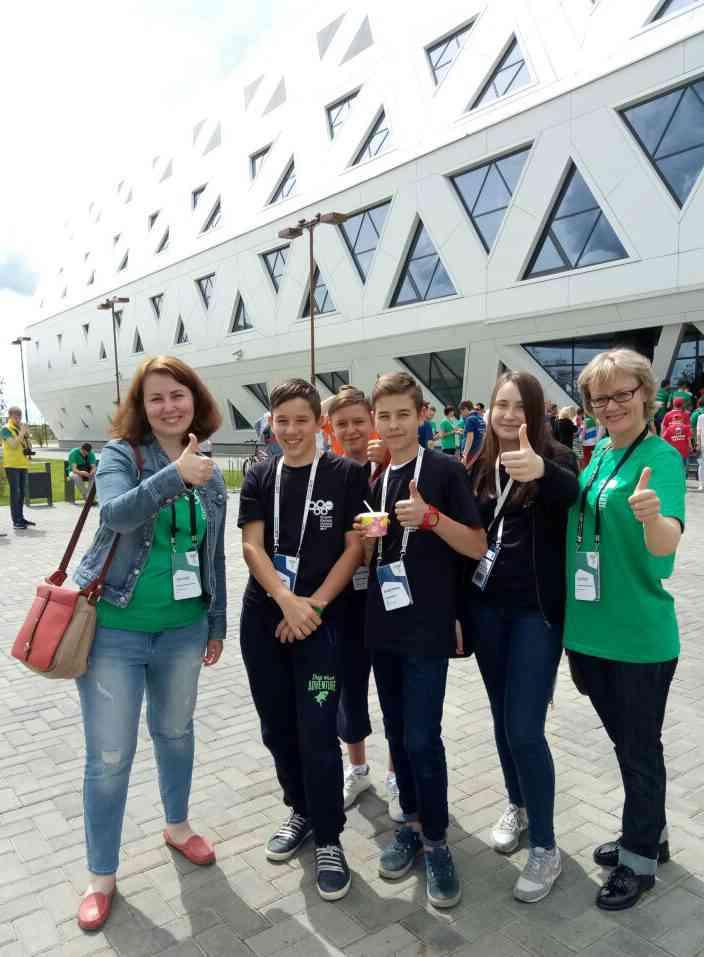 Юные робототехники Тамбовской области на Всероссийской робототехнической олимпиаде