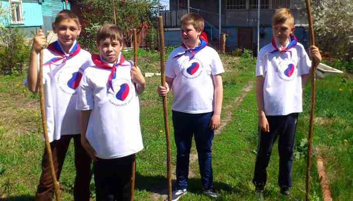 Волонтёрские отряды образовательных организаций области  приняли участие в областных добровольческих акциях