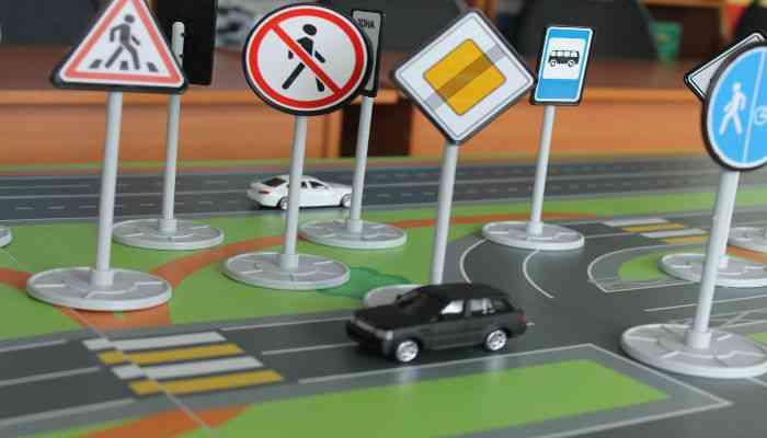 Обучение правилам дорожного движения