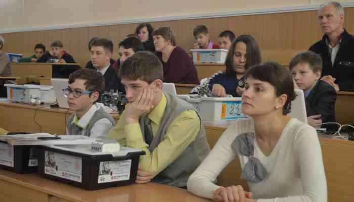 обучающий семинар по робототехнике
