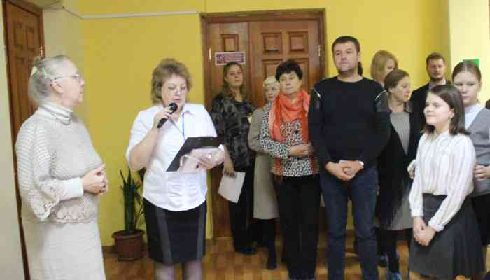 Открытие областной выставки творческих работ педагогов и учащихся