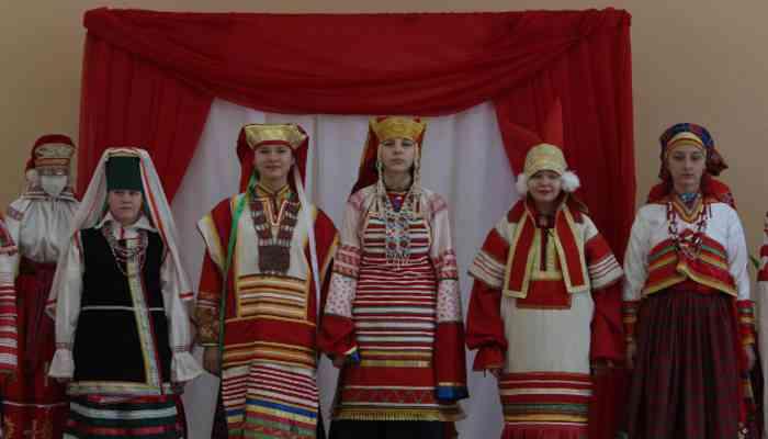 Областной семинар «Реконструкция Тамбовского праздничного женского комплекса»