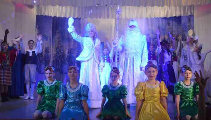 Новогоднее представление «Сказочные сны» по мотивам произведений Г.Х.Андерсена