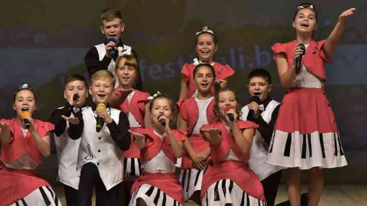 Вокальная группа «Звонкие нотки» успешно выступила на Международном конкурсе