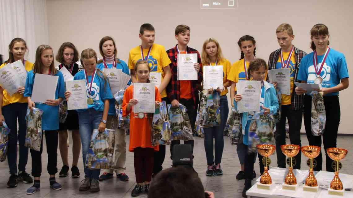 Делегация Тамбовской области на Всероссийском конкурсе юных кинематографистов «Десятая муза» и Всероссийском конкурсе юных фотолюбителей «Юность России»