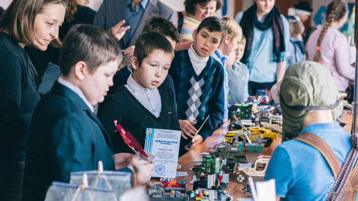 В Тамбове прошла областная выставка юных моделистов