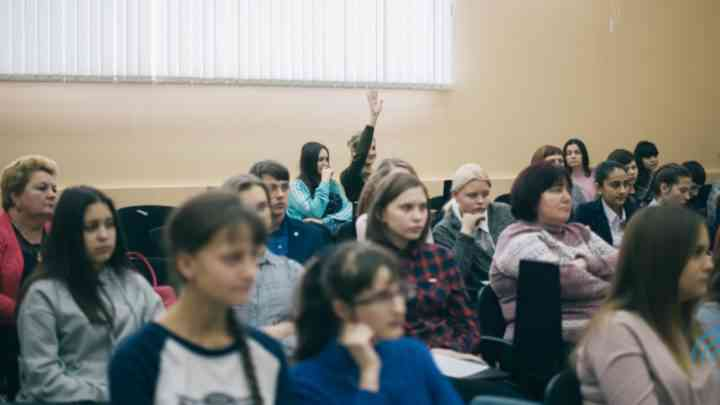 Школьники учатся создавать сайт