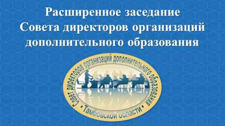 Публичный отчет-презентация руководителей базовых организаций дополнительного образования