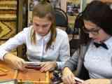 Мастер-класс для обучающихся «Ткачество из тростника с добавлением текстильных лент» в ходе реализации «педклассов»