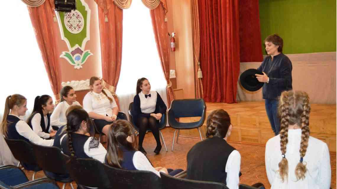 Мастер-класс по актерскому мастерству для учащихся «педкласса»
